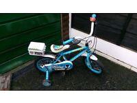 Children's 16 inch police bike