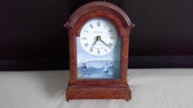 ST. ANDREWS MANTLE PIECE CLOCK & PICTURE