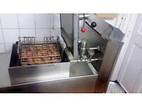 Henny Penny fried chicken pressure fryer