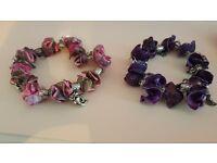 2 Charm Bracelets