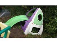 Buzz lightyear climbing frame/ slide