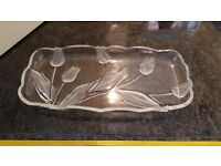 lovely glass dish