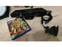 Xbox 360 Kinect and game