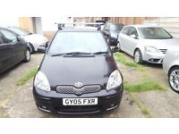 Toyota Yaris 2005 colour collection. 1 Owner from new. MOT March 2017