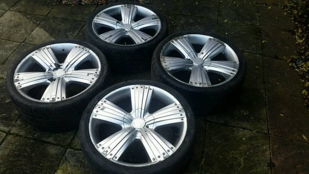 22 Inch Mercedes ML Wheels and tyres - 5x112