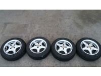 RACELINE ALLOY WHEELS 155 /65/13 (NO 7)