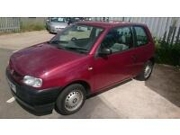 2000 seat arosa 1.0 l petrol drives well