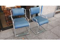 vintage retro industrial chairs.