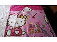 'Hello Kitty' double duvet cover with 2 matching pillowcases