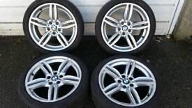 Bmw f10 and e60 original 19 alloys