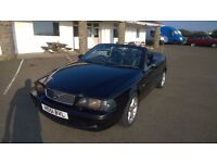 volvo c70 convertible 2002 registration, 2.0lt petrol automatic , covered only 94,000 miles