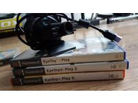 Playstation 2 - Eye Toy Camera and Games