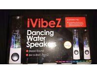 Ivibez dancing water speakers. Two boxes never been opened