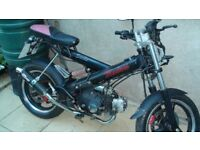 Sachs Madass 72cc Geared 4-stroke Motorbike 2008 upgraded