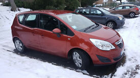 Vauxhall Meriva Auto AC CDTI 2012