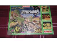 LOST VALLEY OF THE DINOSAURS BOARD GAME 1985