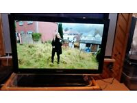 """Toshiba 26DL833B 26"""" LED TV A built-in DVD player Freeview This widescreen LED TV is HD ready"""