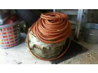 Rope over 100 metres of half inch thick