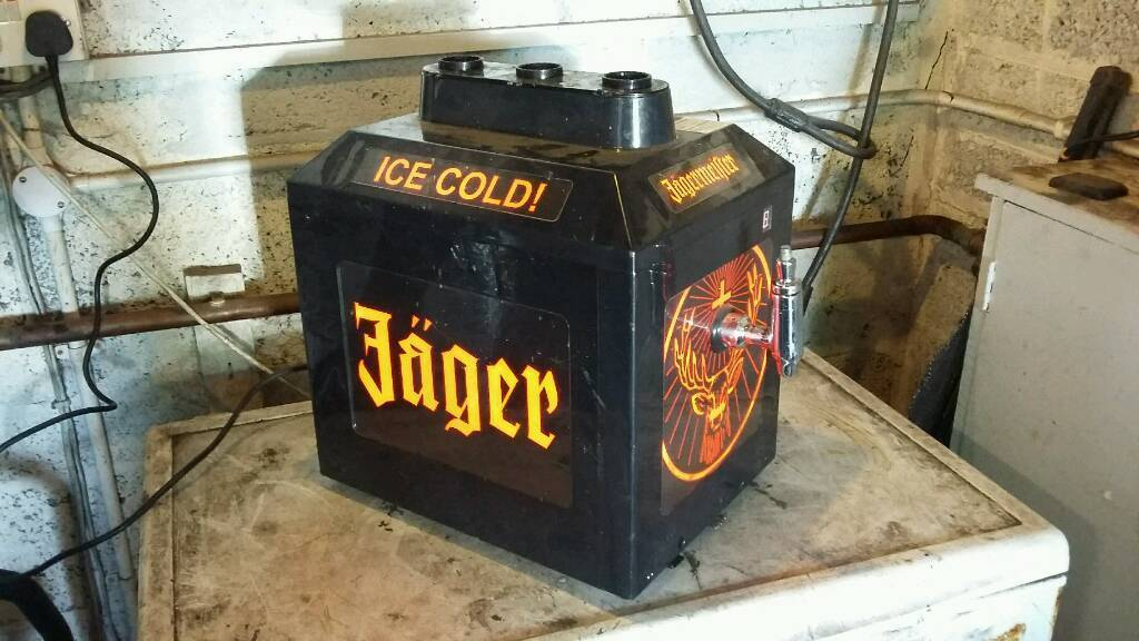 Jagermeister Cooler Fridge Project Electronic Diy Hobby Mini Fridge