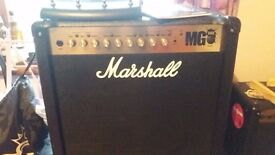 Marshall MG50FX guitar amplifier