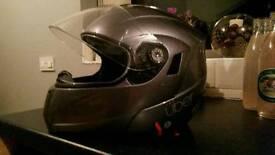 Flip front helmet large