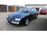Alfa Romeo 156 2.0 * FULL MOT & LOW MILEAGE 65K*