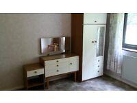 Wardrobe, Dressing Table & Bedside Cabinet