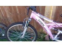 Daughters bike no longer needed