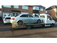 Car delivery/collection and recovery service