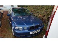2002 BMW 325ti Compact £1200