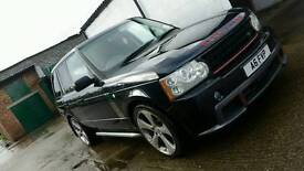 Range rover overfinch 22 tints