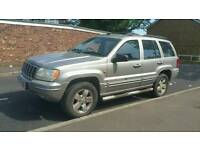 02 Jeep Grand Cherokee Auto 3.0 Diesel 99k Miles HPI Clear