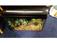 MARINA FISH TANK 80 x 30 with accessories , heater and pump. In good condition and fully operationl.