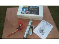 REDUCED - Tru grind sharpening jig system wood turning carving etc