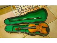 3/4 Violin Copy Antonio Stradivarius faciebat Cremona 1713