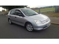 HONDA CIVIC 1.6 PETROL 5DR FULL SERVICE HISTORY 10 STAMPS