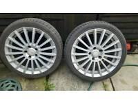 """17"""" Vauxhall alloys"""
