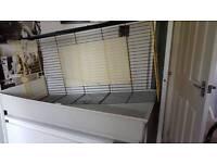 Indoor guinea pig rabbit cage