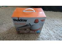Beldray 10 in 1 handheld steam cleaner - used once - boxed