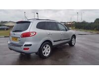 2008 HYUNDAI SANTA FE DIESEL AUTO IN TOP CONDITION. MOT AUGUST 2017. CAMBELT CHANGED AT 99000 MILES