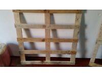 Wooden frames £2 each
