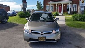 2008 Honda Civic Ex-l-$56W- Leather- Sunroof- Cd with Aux input London Ontario image 4