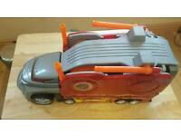 Hot wheels launcher truck