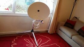 Maxview portable Satellite Dish with SKY+ HD 500GB HDD.