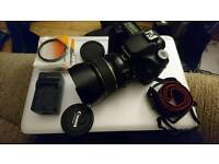 Eos 40d 2 lenses filters hood batter and charger