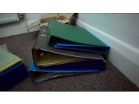 Ring folders