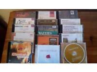 15 various cds