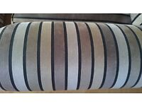 Striped Sofas and Chair Set