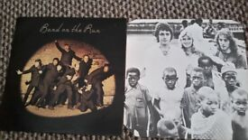 Band on the run featuring Paul Mccartney and Linda Maccartney