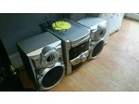 Panasonic loud 5 CD Stereo system